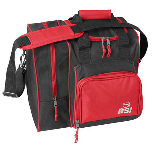 BSI Deluxe Single Ball Tote Bag Black/Red