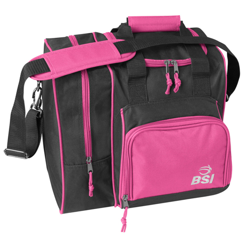 BSI Deluxe Single Ball Tote Bag Black/Pink