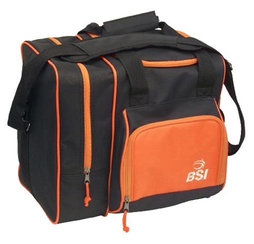 BSI Deluxe Single Ball Tote Bag Black/Orange