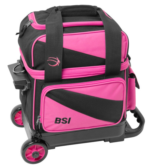 BSI Prestige 1 Ball Roller Bag Black/Pink