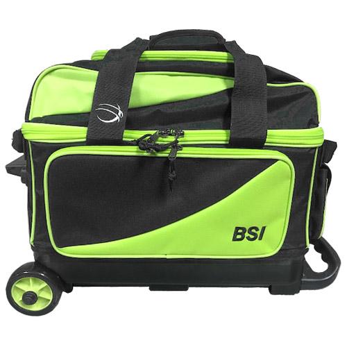BSI Prestige 2 Ball Roller Bag Black/Lime