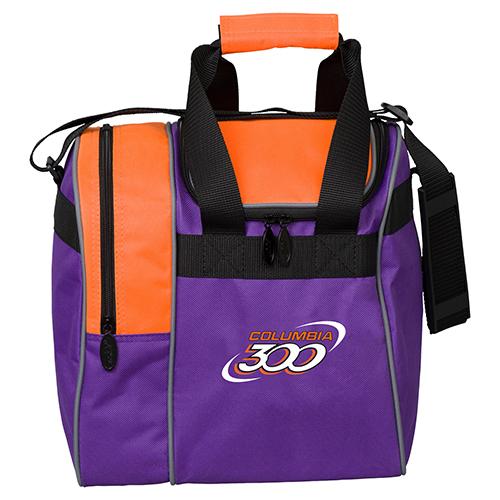 Columbia 300 C300 Single Ball Tote Bag Purple/Orange