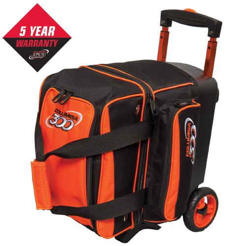 Columbia 300 Icon 1 Ball Roller Bag Orange