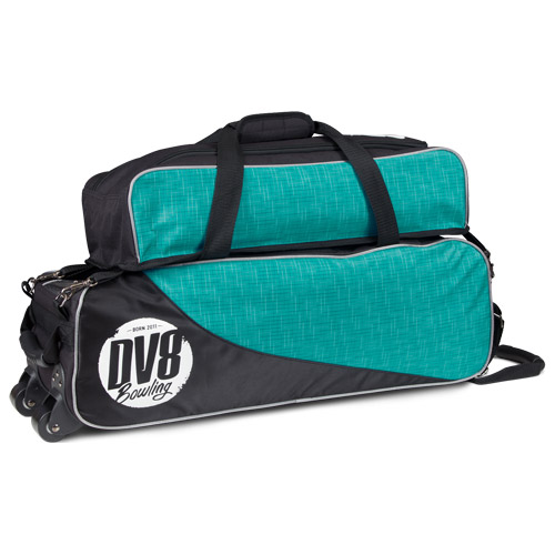 DV8 Circuit 3 Ball Tote Bag With Pouch Teal