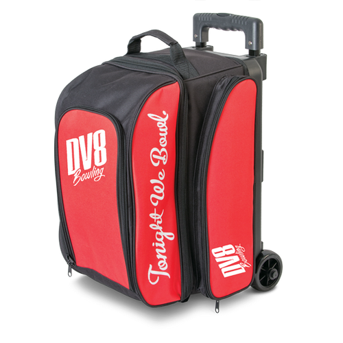 DV8 Freestyle 2 Ball Roller Bag Red