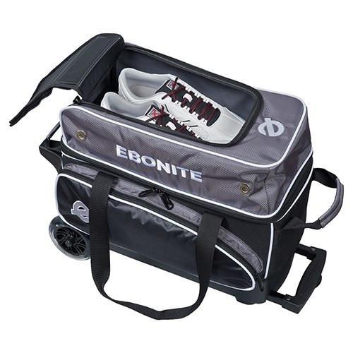 Ebonite Eclipse 2 Ball Roller Bag Shoe Storage