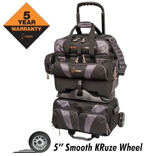 Hammer Premium 4 Ball Roller Bag Black/Carbon