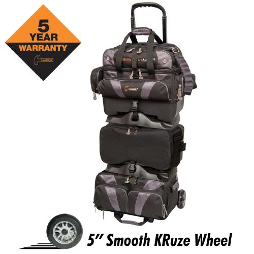 Hammer Premium 6 Ball Roller Bag Black/Carbon