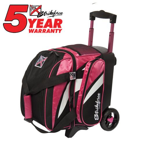 KR Strikeforce Cruiser 1 Ball Roller Bag Pink/White/Black