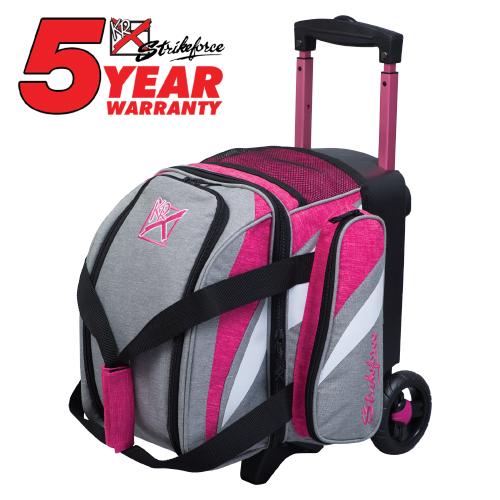 KR Strikeforce Cruiser 1 Ball Roller Bag Stone/Pink