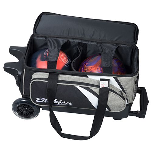 KR Strikeforce Cruiser Smooth 2 Ball Roller Bag Storage