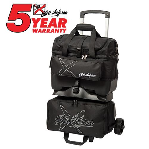 KR Strikeforce Hybrid X 4 Ball Roller Bag Black