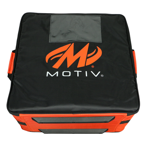 Motiv 4-Ball Box Tote Black/Orange
