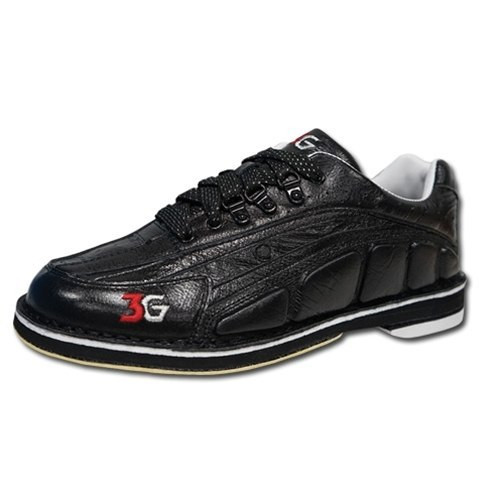 3G Tour Ultra Mens Bowling Shoes Black/Black Left Handed WIDE