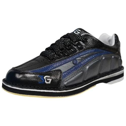 3G Tour Ultra Mens Bowling Shoes Blue/Black/Metallic Right Hand