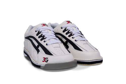 3G Tour Ultra Mens Bowling Shoes White/Black Right Hand