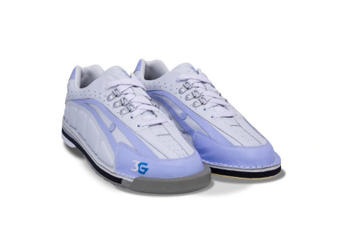 3G Tour Womens Ultra Bowling Shoes Periwinkle/Ivory Left Hand