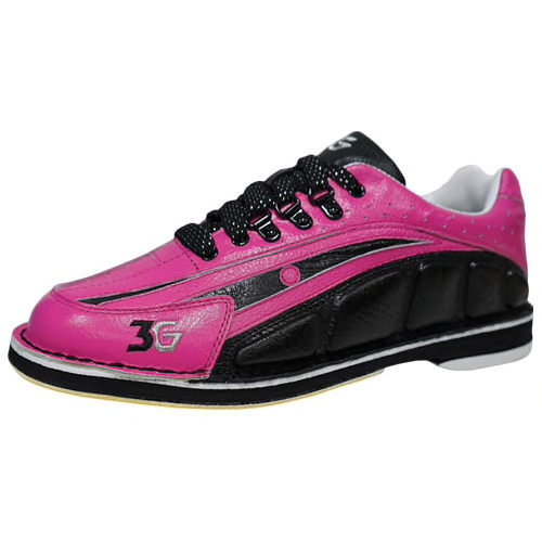 3G Tour Womens Ultra Bowling Shoes Pink/Black Right Hand