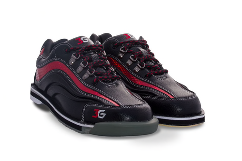 3G Sport Ultra Mens Bowling Shoes Black/Red Right Hand