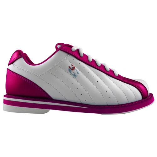 3G Kicks Womens Bowling Shoes White/Pink