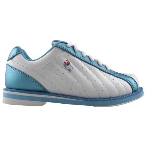 3G Kicks Womens Bowling Shoes White/Blue