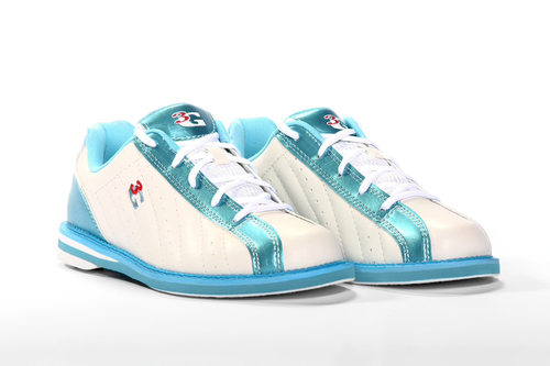 3G Kicks Womens Bowling Shoes White/Blue