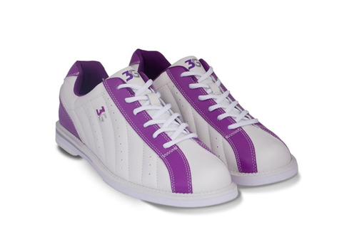 3G Kicks Womens Bowling Shoes White/Purple