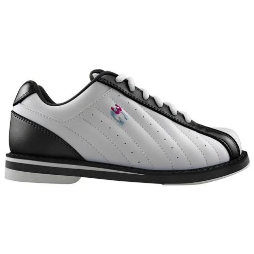 3G Kicks Womens Bowling Shoes White/Black
