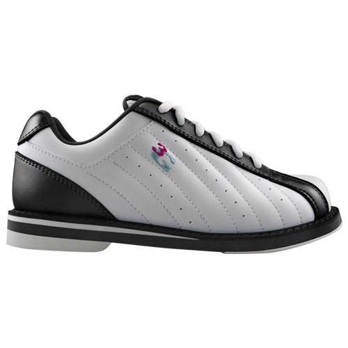 3G Kicks Boys Bowling Shoes White/Black