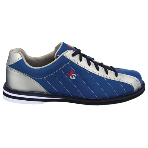 3G Kicks Men's Bowling Shoes Navy/Silver