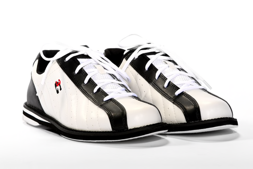 3G Kicks Men's Bowling Shoes White/Black