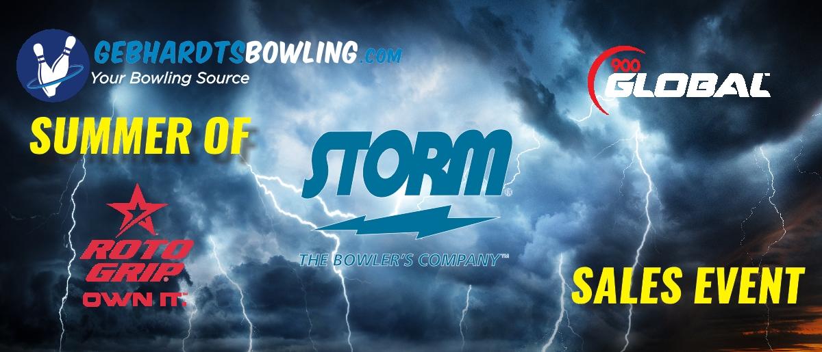 GebhardtsBowling.com Summer of Storm Sales Event