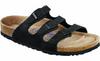Birkenstock Florida Soft-Footbed - Black Oiled Leather