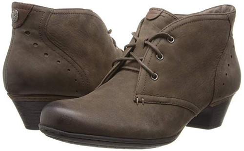 Aria Lace Up Bootie Stone