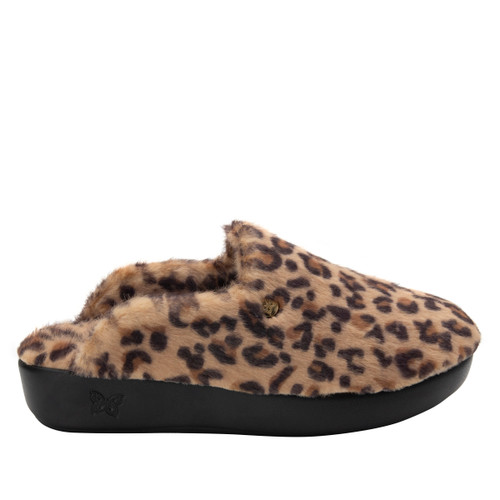 Alegria Leisurelee Slipper - Leopard
