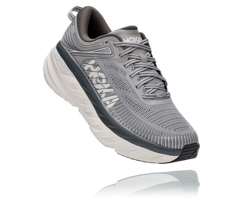 Hoka Bondi 7 Wild Dove/Dark Shadow