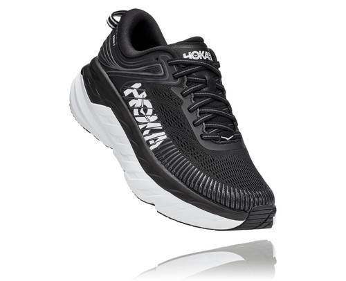 Hoka Bondi 7 Black/White