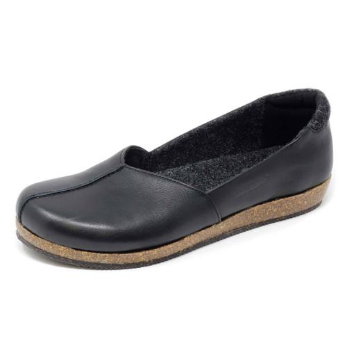 Stegmann Liesl Skimmer Black Leather