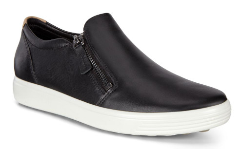 Ecco Soft 7 Slip On Black Droid