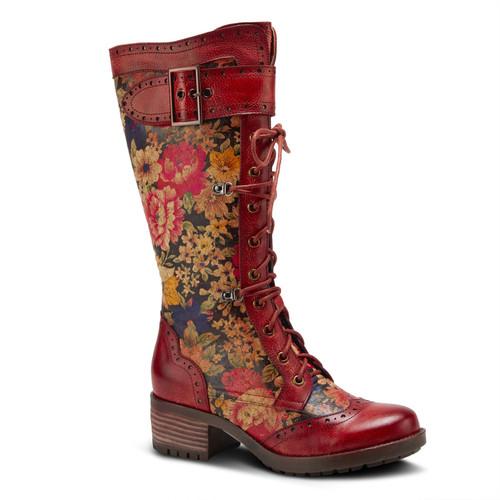 L'Artiste Kisha-Flora Red Multi