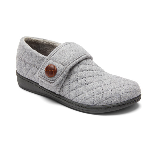 Vionic Jackie Slipper Light Grey