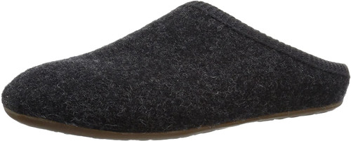 Haflinger Dakota Dynamic Slipper Charcoal