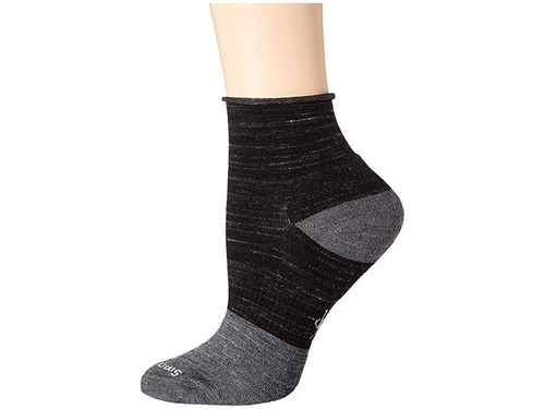 Smartwool Luna Mini Boot Sock Black Heathered