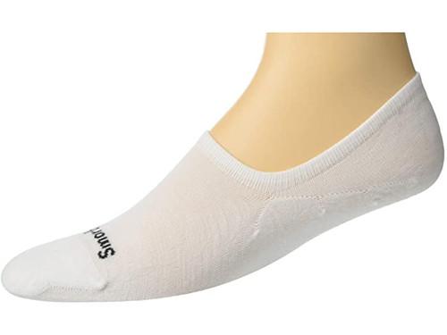 Smartwool Sneaker Men's No Show White Sock