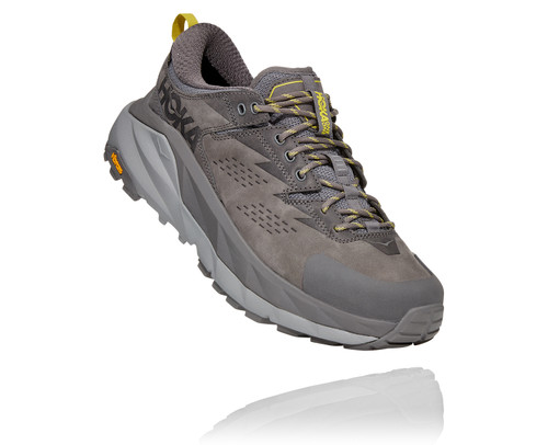 Hoka One One Kaha Low Gore-Tex Charcoal Grey/Green Sheen