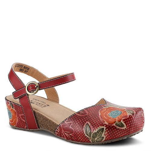 L'Artiste Lizzie Rose Red Multi Leather