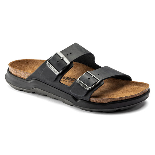 Birkenstock Arizona Cross Town Black Oiled Leather