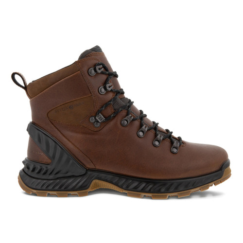 Ecco Exohike Mid Men's Boot Cocoa Brown Lhasa Yak