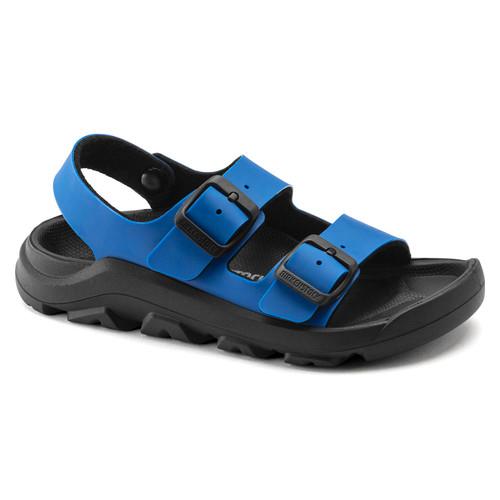 Birkenstock Children's Mogami Sandal Icy Ultra Blue/Black Birko-Flor