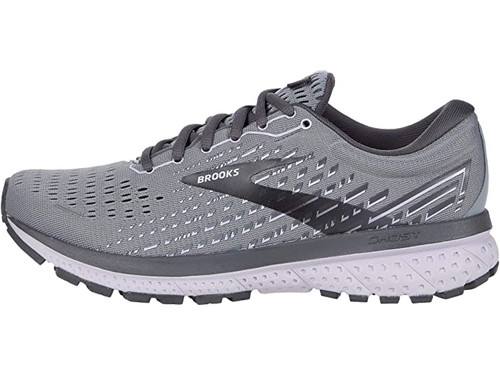 Brooks Ghost 13 Grey/Blackened Pearl/Purple